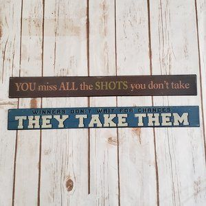 Metal Wall Accent Signs